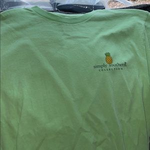 A green simply souther tee